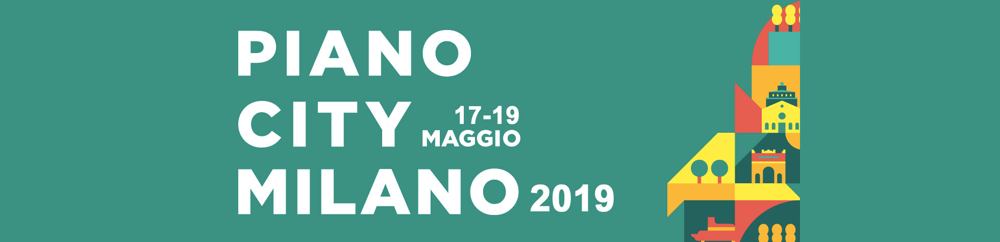 The city on music: Piano City Milano 2019